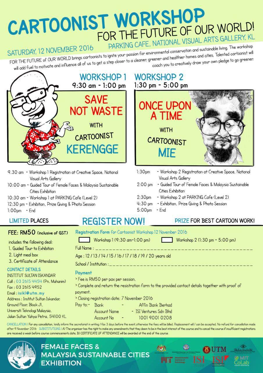 Cartoonist Workshop